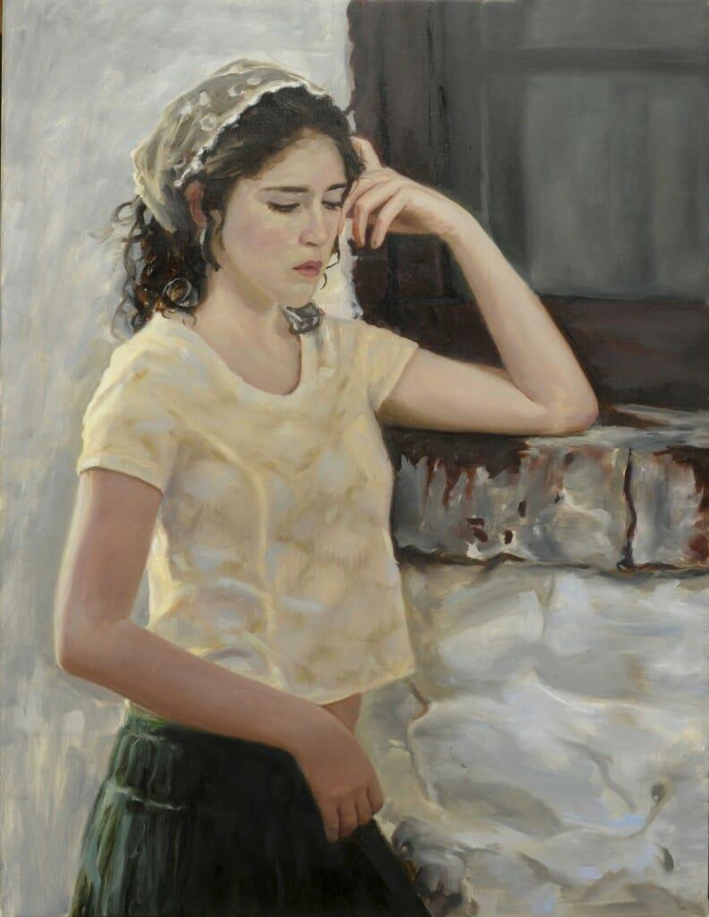 oil painting by Mark Lovett