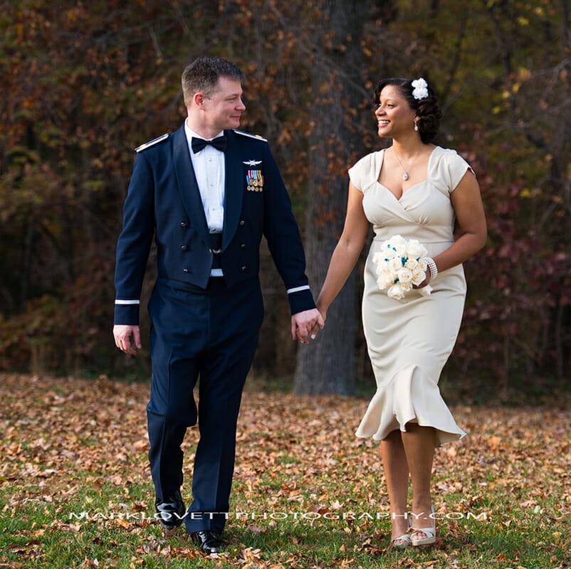 Lisa & Steven Wedding at Andrews Air Force Base